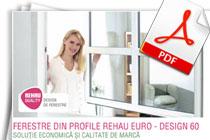 Descarca brosura Rehau Euro Design 60