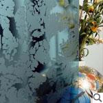 Geam decorativ (ornament) - GHEATA