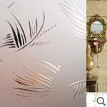 Geam decorativ (ornament) - PALMIER