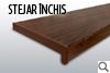 STEJAR INCHIS - Glaf interior PVC